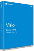 Microsoft Visio 2016 Standard 32-BIT/X64 PKC Microsoft Visio 2016 Standard 32-BIT/X64 PKC, Win, Deutsch, 32/64-bit, (PKC Medialess), - zur Einzelplatzinstallation | 0