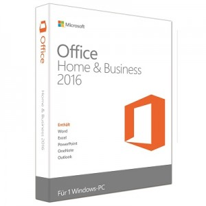 Microsoft Office 2016 Home and Business PKC, x32/x64